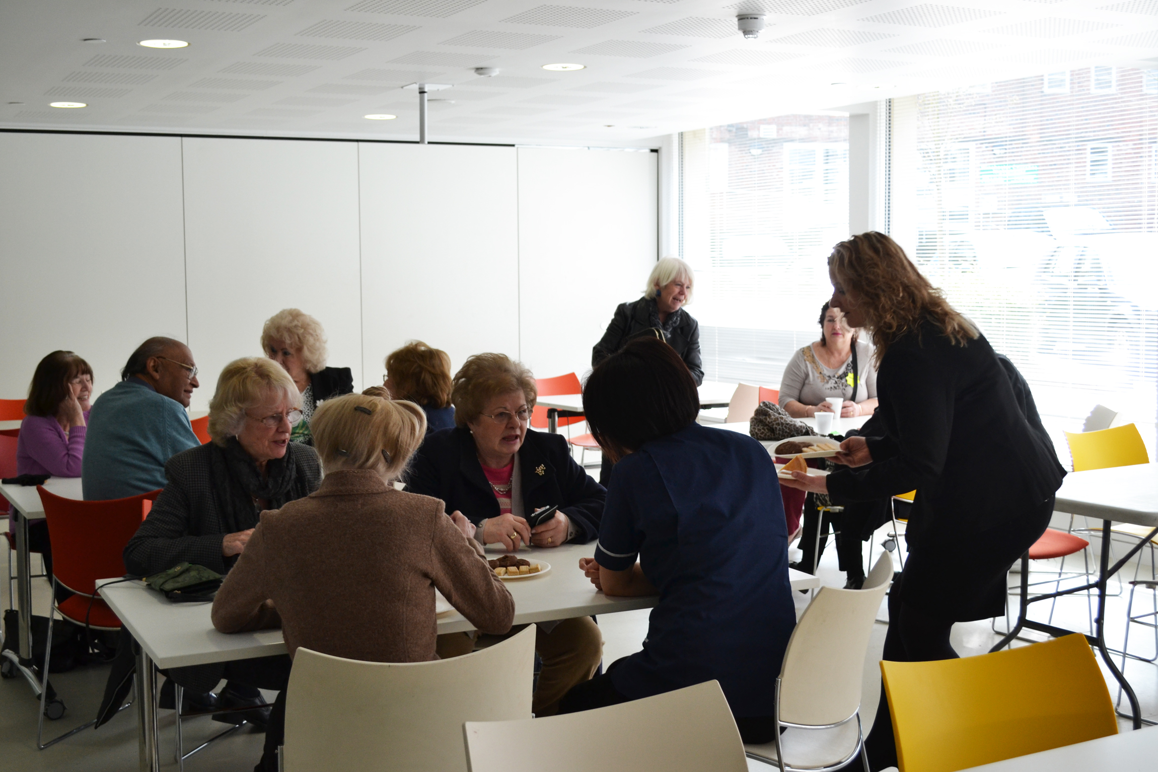 Everycare hosts speed dating event for the over 65s