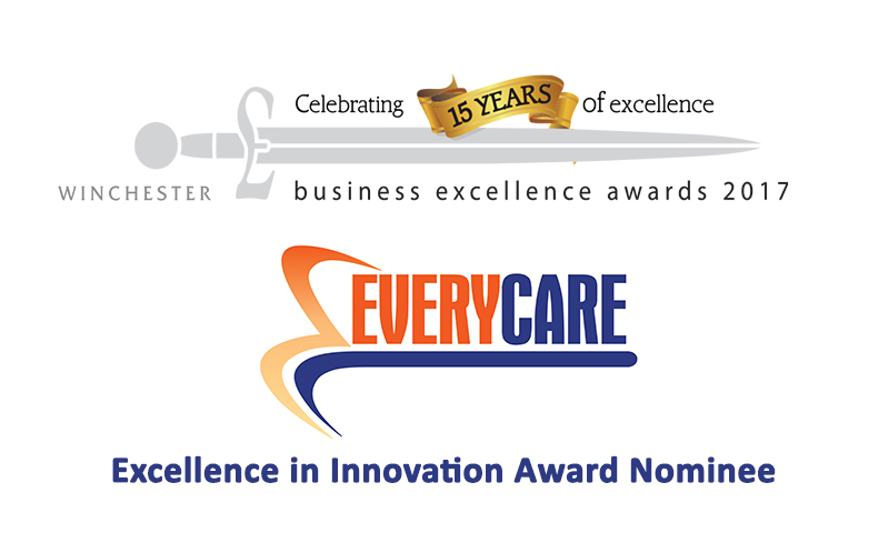 Everycare shortlisted for Winchester Business Excellence Award