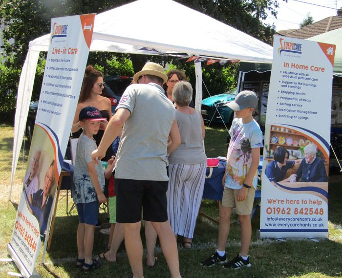 Everycare at the Fair Oak Fete
